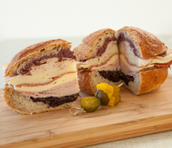 Make-ahead New Orleans Muffuletta