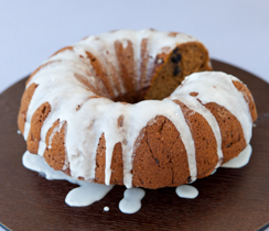 Hot Buttered Rum Squash Cake