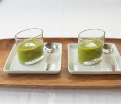 Sylvie's Chilled Romaine Soup