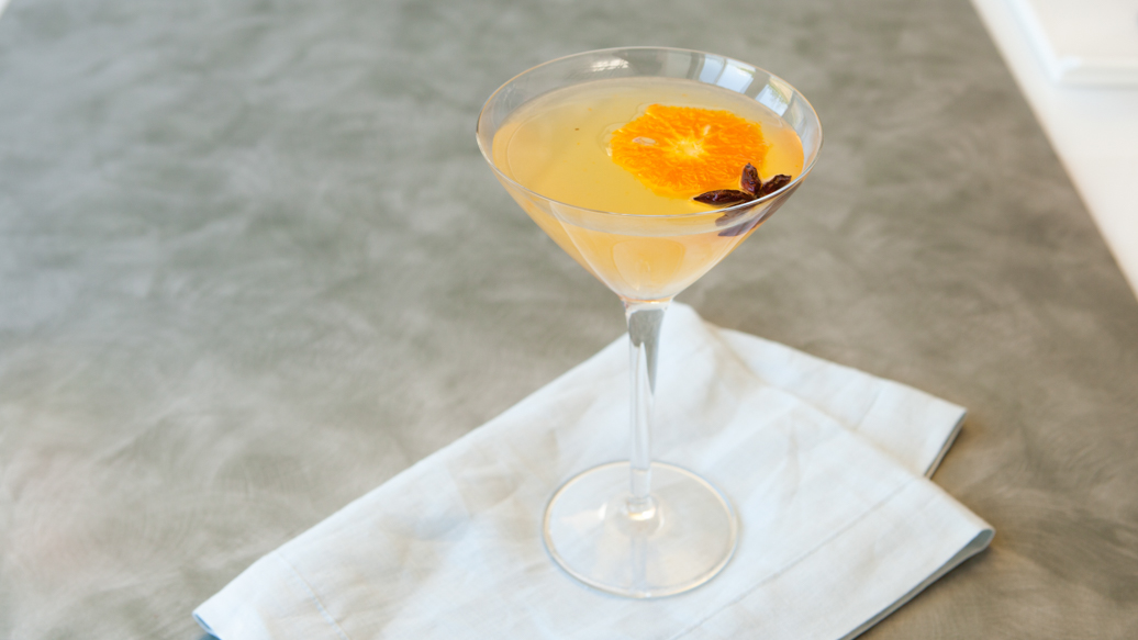'My Spicy Clementine' Martini