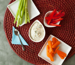 Creamy Blue Cheese & Onion Dip