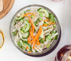 Noodly Asian Crunch Salad
