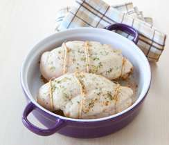 Herbed Sage & Apple-stuffed Chicken