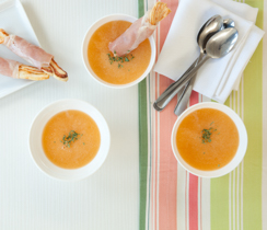 Sylvie's Cold Melon Soup