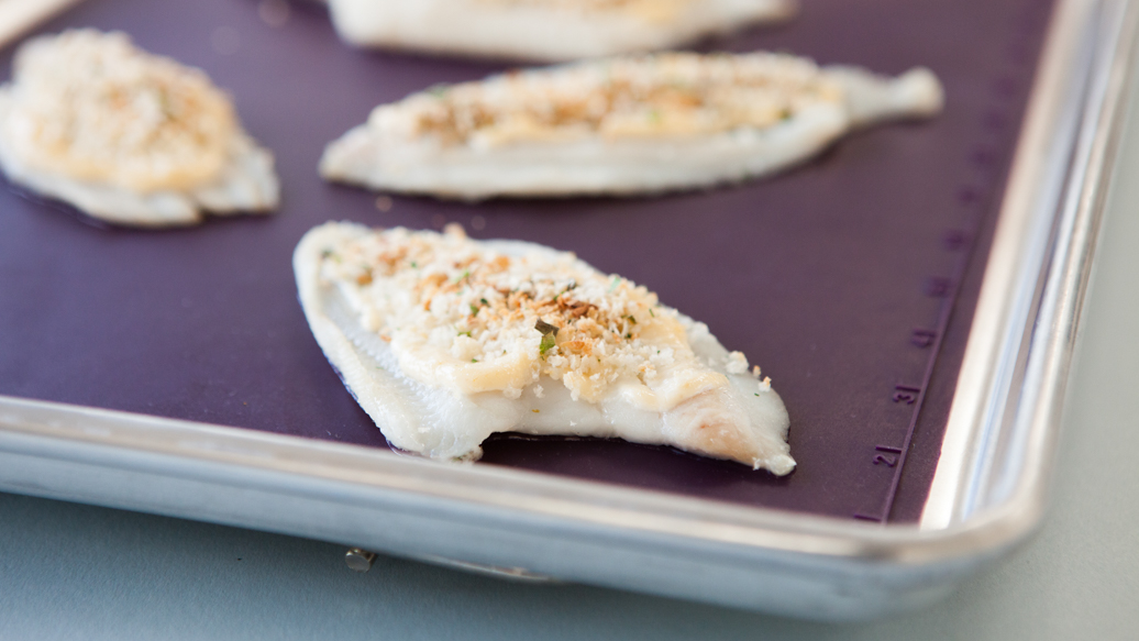 Aioli-crusted Fish Fillets