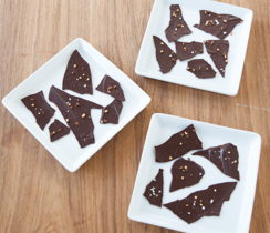 Maple Bacon Sea Salt Chocolate Bark