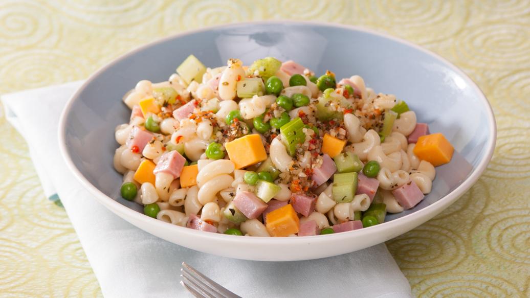Salade de p tes jambon et fromage - Salade de pates jambon ...