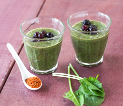 Kick 'in Berry & Spinach Smoothie