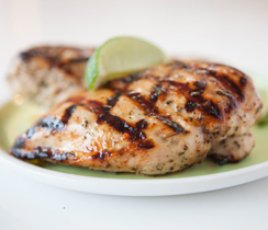 Big-Batch Grilled Montreal Chicken Breasts