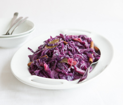 Braised Bavarian Red Cabbage