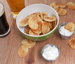 4 minutes Potato Chips