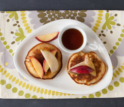 Pear & Apple Crumble Pancakes