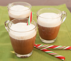 Peppermint Hot Chocolate Kiss