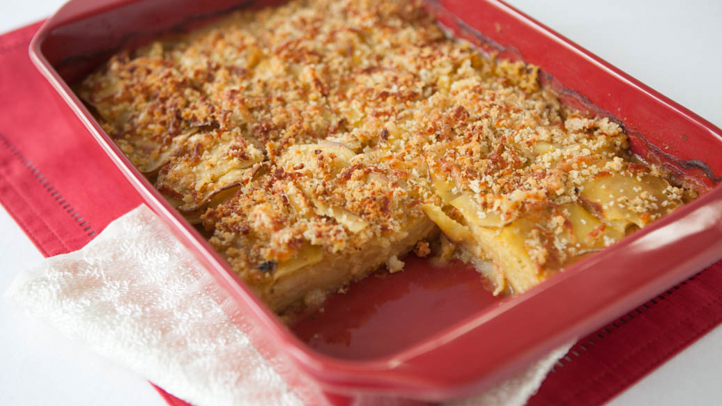 Lighten Up Scalloped Potatoes