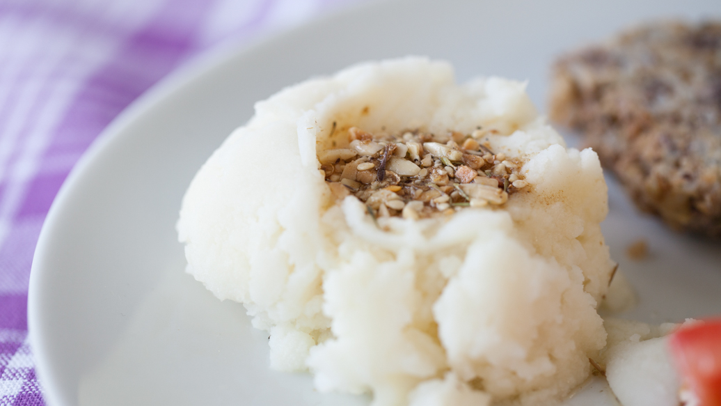 Dukkah Mashed Potatoes