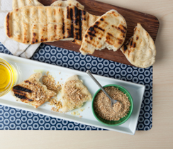 Sylvie's Grilled Flat Bread