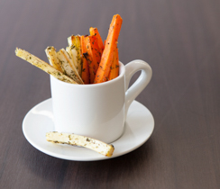 Parsnip & Carrot Oven Fries