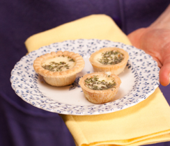 Mini Sun-dried Tomato Quiche