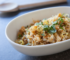 Le Taj Lemon Rice Pilaf