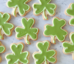 Sugar Cookies for St.Patrick's Day
