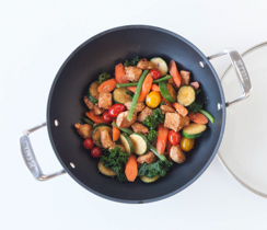 Harissa Chicken Vegetable Stir-fry