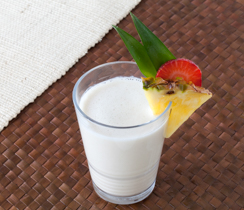 Coconut Pina Colada Smoothie
