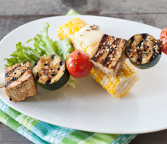 Oh Canada! Grilled Tofu Kebabs