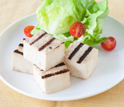 Grilled Tofu, with Sriracha Aioli