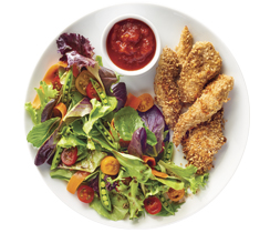 Balsamic Parmesan Chicken Fingers