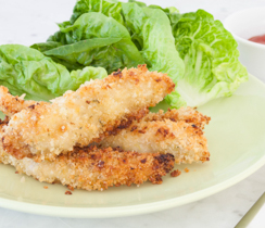 Coconut Lime Chicken Fingers