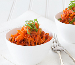 Moroccan Grated Carrot Salad
