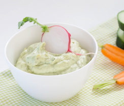 Lemon Basil Avocado Dip n' Spread