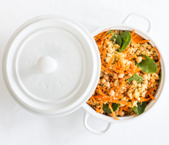 Carrot & Bulgur Salad