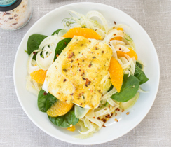Curried Fish & Fennel Salad