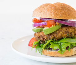 Best Ever Veggie Burger