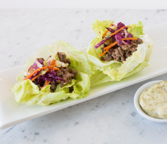 Easy Asian Lettuce Wraps
