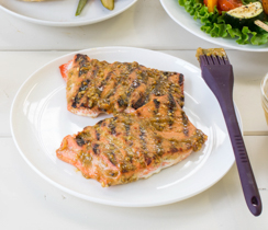Oh Canada Grilled Salmon