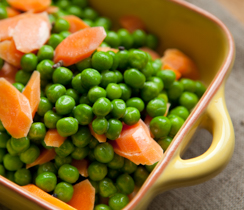 Green Peas and Carrots with Cardamom