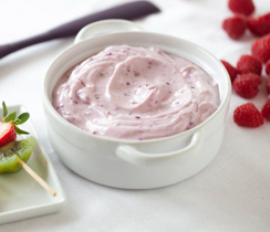 Summer Berry Fruit Sweet Dip