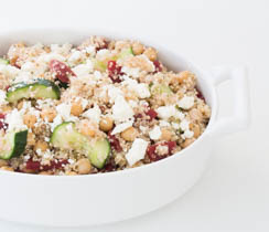 Beet & Goat Cheese Quinoa Salad