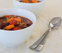 Tex-Mex Vegetarian Chili