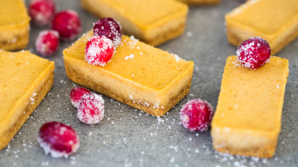 Perfectly Petite Pumpkin Cheesecakes