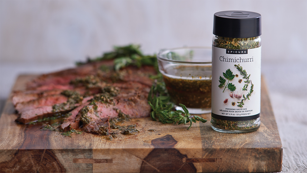 Sauce de finition chimichurri