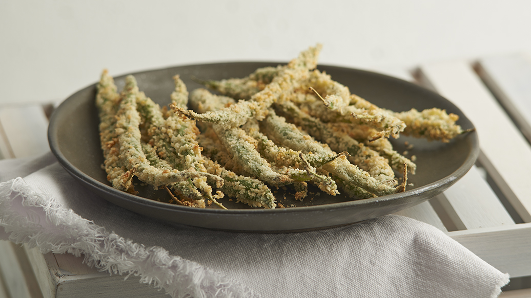 String Bean Oven Fries