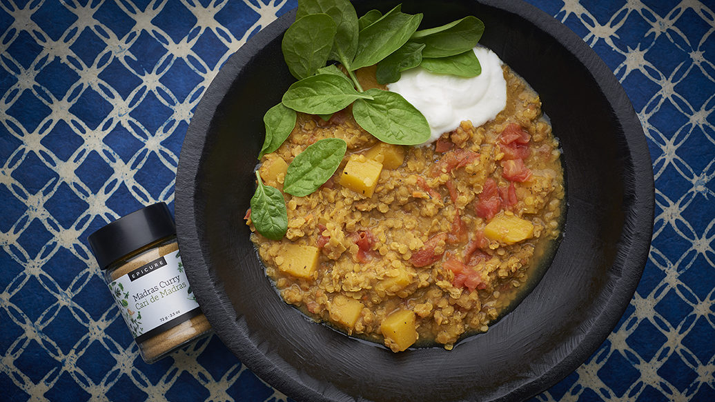 Slow Cooker Squash Indian Dhal