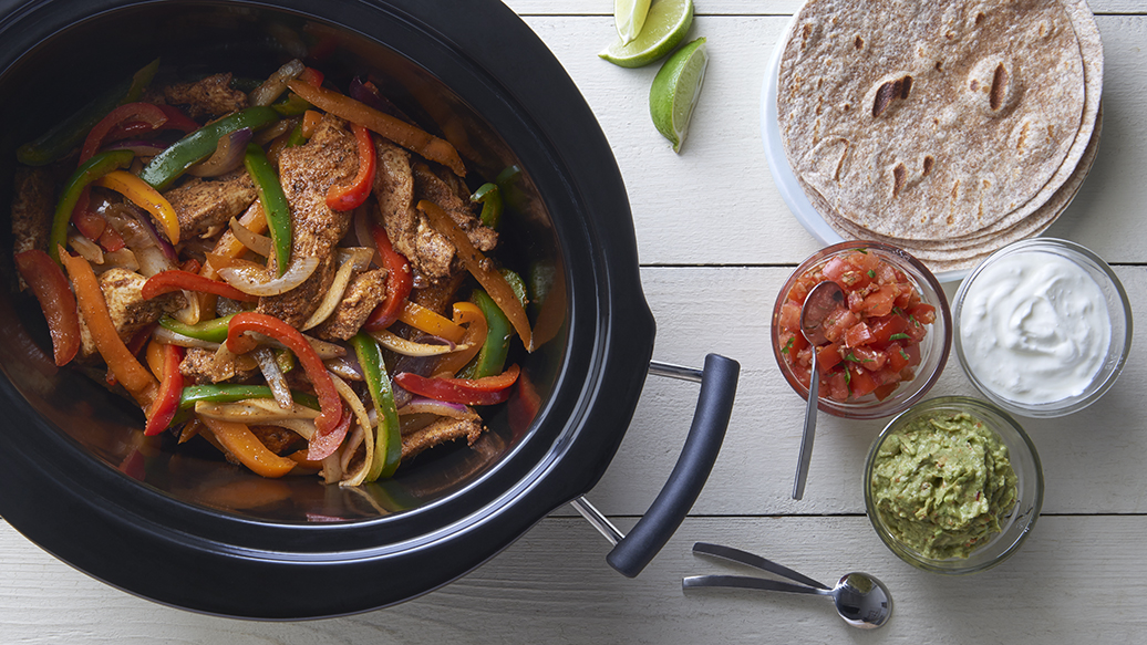 Slow Cooker Easy Fajitas