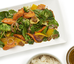 Le Taj Steamed Vegetables