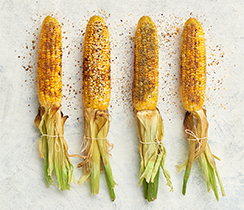 DIY Grilled Corn Bar