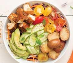 Southern Baked Picnic Chicken Bowl