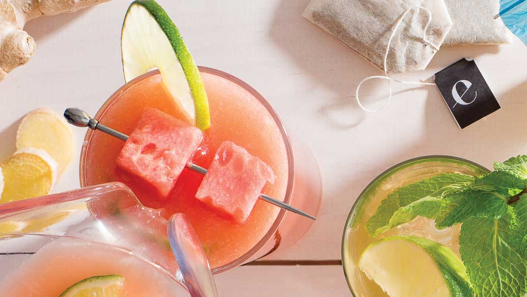 Watermelon & Hibiscus Bliss Sangria